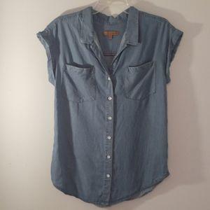Jachs Girlfriend Chambray Shirt